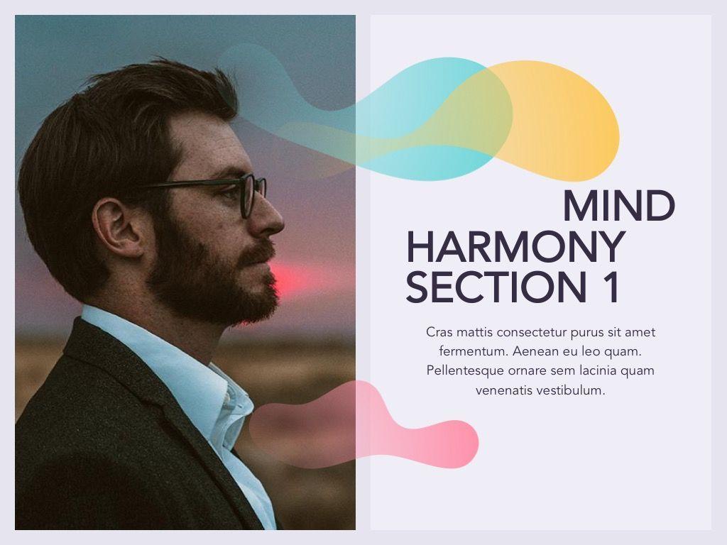 Mind Harmony Google Slides, Slide 3, 05047, Presentation Templates — PoweredTemplate.com