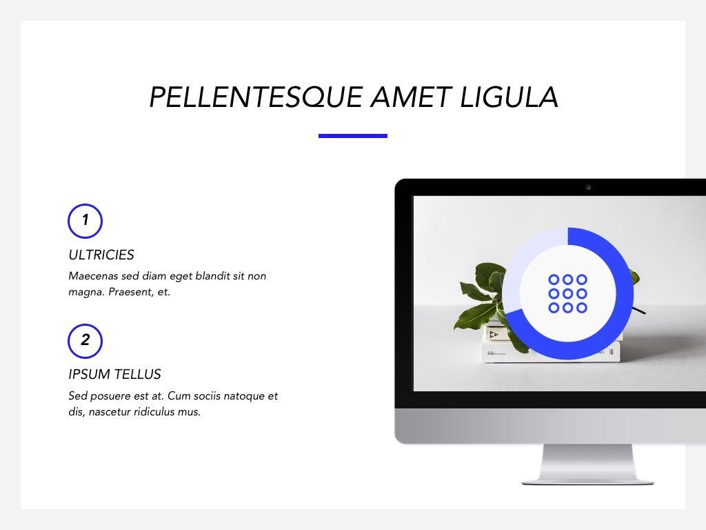 Printed Word Google Slides Template, Slide 19, 05049, Presentation Templates — PoweredTemplate.com