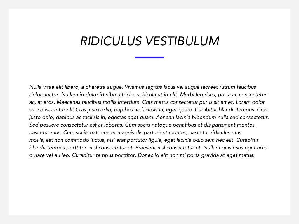 Printed Word Google Slides Template, Slide 6, 05049, Presentation Templates — PoweredTemplate.com