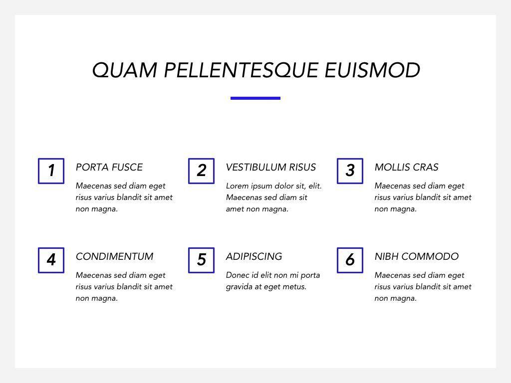 Printed Word Google Slides Template, Slide 7, 05049, Presentation Templates — PoweredTemplate.com