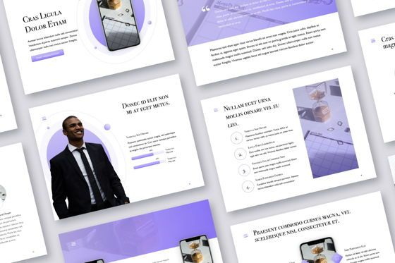 Presentation Templates: Wide Range Google Slides Template #05053