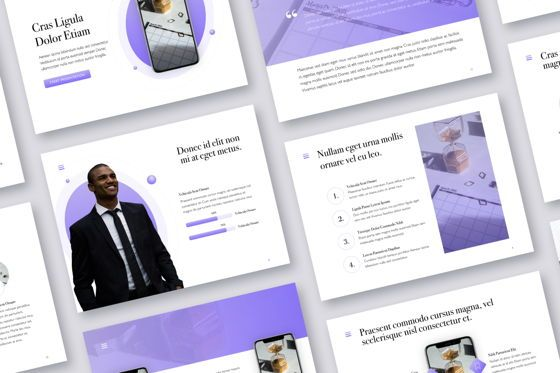 Presentation Templates: Wide Range Keynote Template #05054