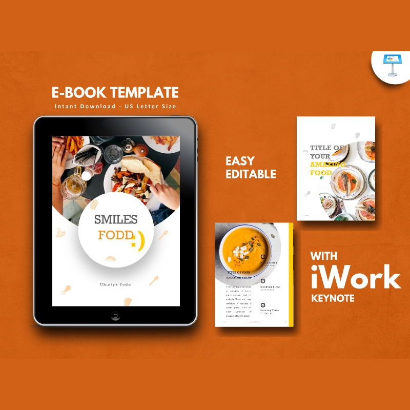Recipe Food PowerPoint Presentation Template, 05057, Presentation Templates — PoweredTemplate.com