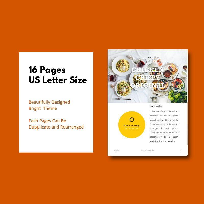 Recipe Food PowerPoint Presentation Template, Slide 5, 05057, Presentation Templates — PoweredTemplate.com
