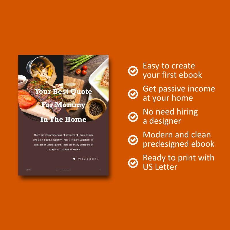 Recipe Food PowerPoint Presentation Template, Slide 9, 05057, Presentation Templates — PoweredTemplate.com