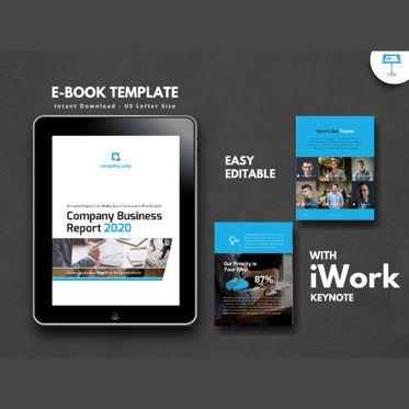 Business Models: Business Report 2020 Keynote Presentation Template #05059
