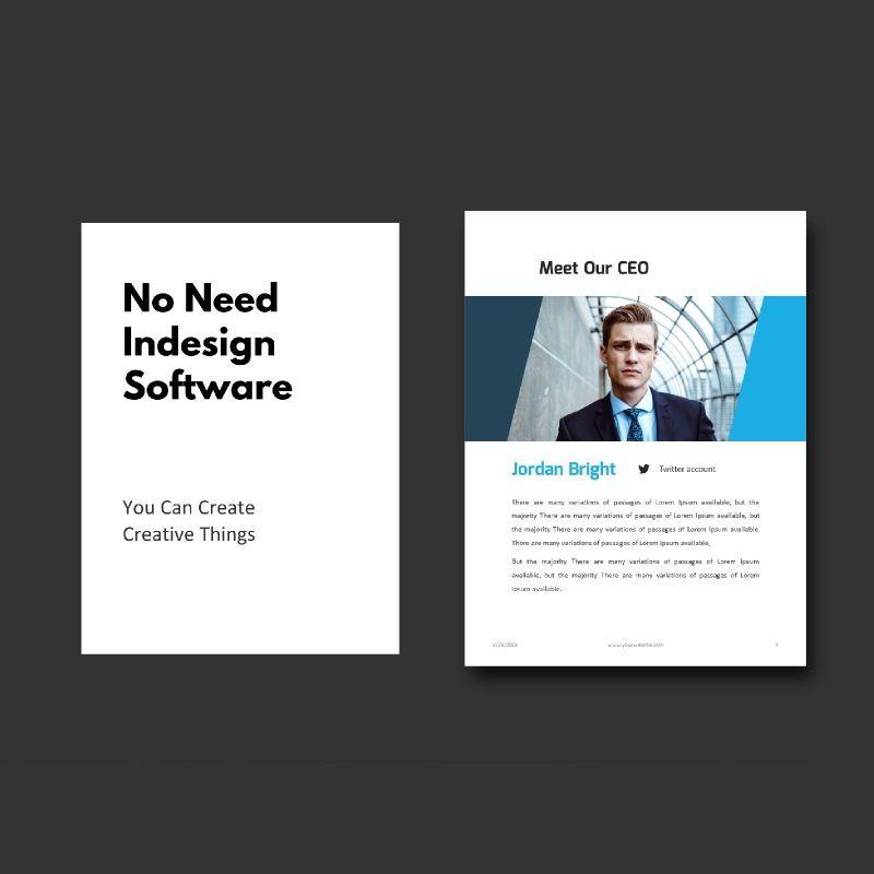 Business Report 2020 Keynote Presentation Template, Slide 3, 05059, Business Models — PoweredTemplate.com