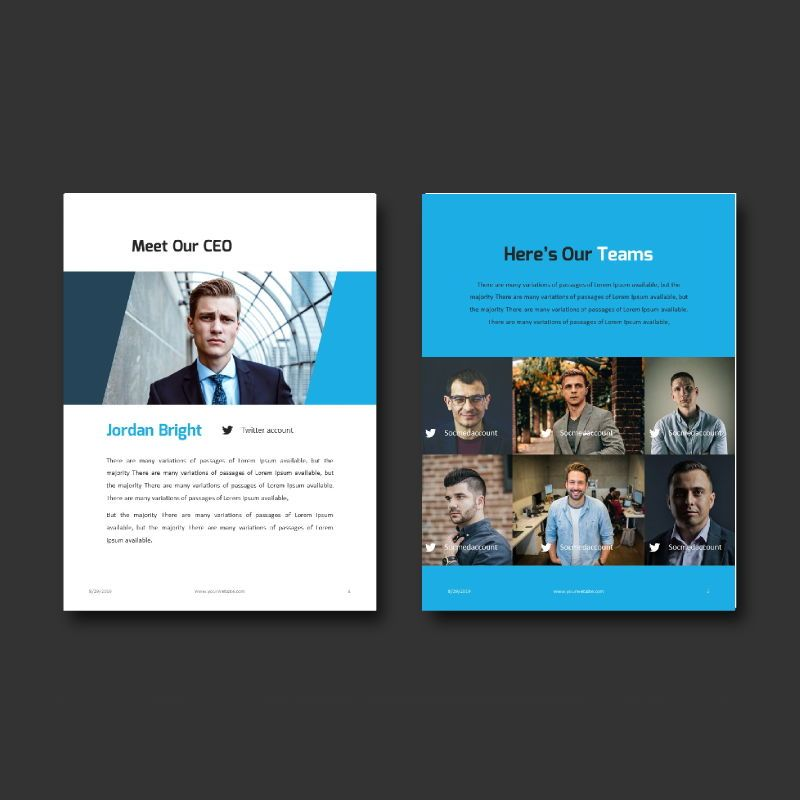 Business Report 2020 Keynote Presentation Template, Slide 4, 05059, Business Models — PoweredTemplate.com