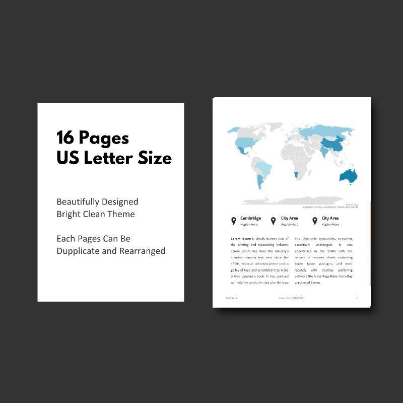Business Report 2020 Keynote Presentation Template, Slide 5, 05059, Business Models — PoweredTemplate.com