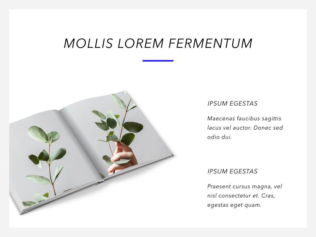 Printed Word PowerPoint Template, Slide 12, 05060, Presentation Templates — PoweredTemplate.com