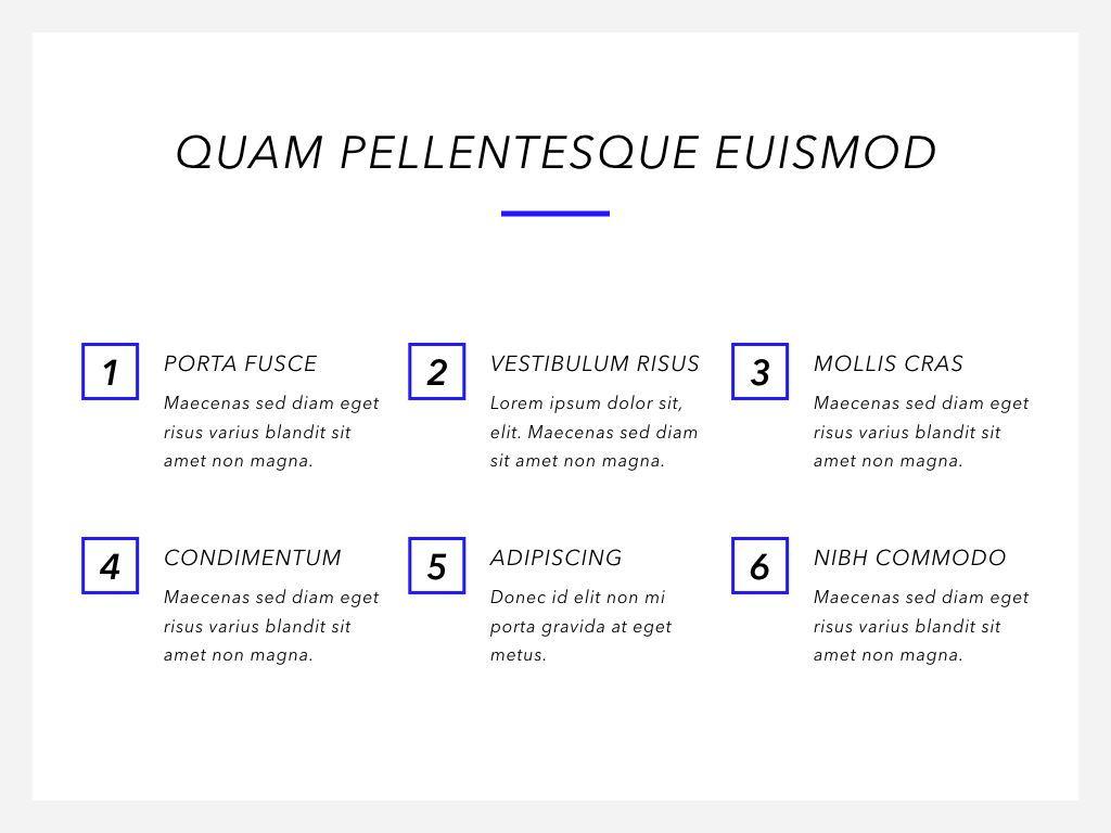 Printed Word PowerPoint Template, Slide 7, 05060, Presentation Templates — PoweredTemplate.com