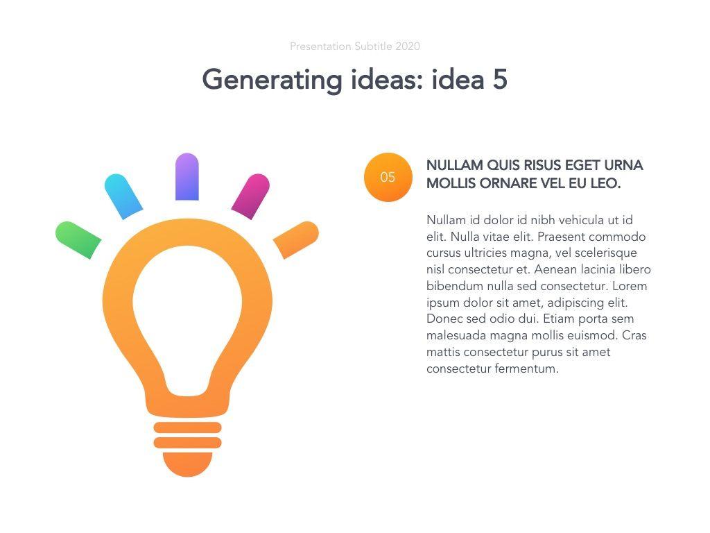 Act Natural Google Slides Template, Slide 20, 05061, Presentation Templates — PoweredTemplate.com