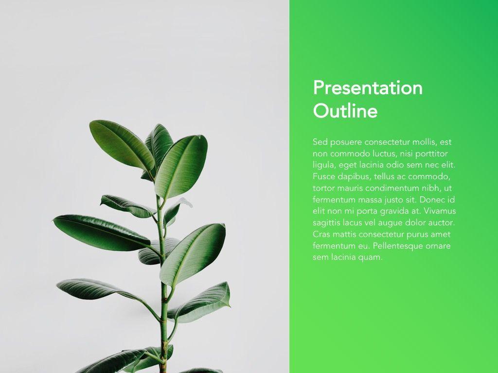 Act Natural Google Slides Template, Slide 3, 05061, Presentation Templates — PoweredTemplate.com