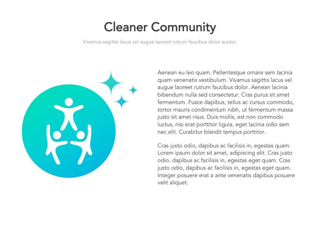 Valet Trash Google Slides Template, Slide 11, 05063, Presentation Templates — PoweredTemplate.com