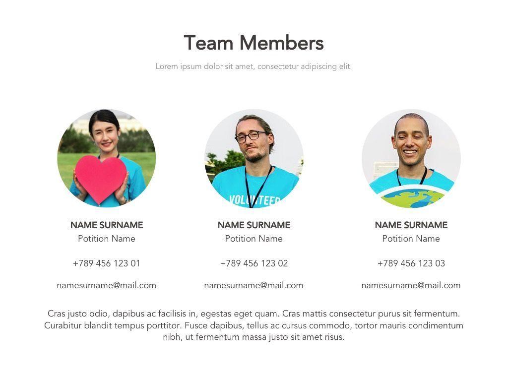 Valet Trash Google Slides Template, Slide 3, 05063, Presentation Templates — PoweredTemplate.com