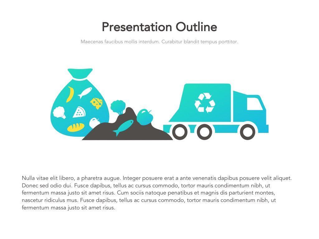 Valet Trash Google Slides Template, Slide 4, 05063, Presentation Templates — PoweredTemplate.com