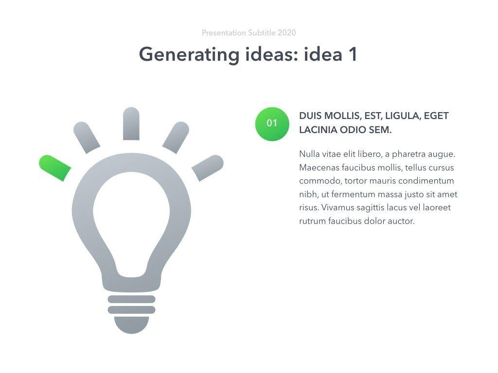 Act Natural PowerPoint Template, Slide 16, 05064, Presentation Templates — PoweredTemplate.com