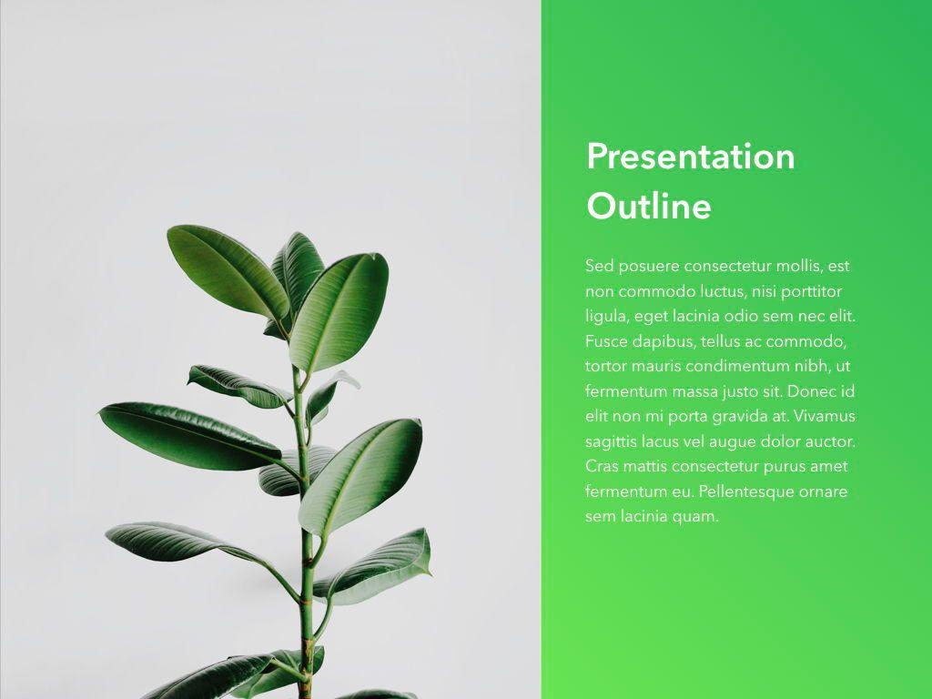 Act Natural PowerPoint Template, Slide 3, 05064, Presentation Templates — PoweredTemplate.com