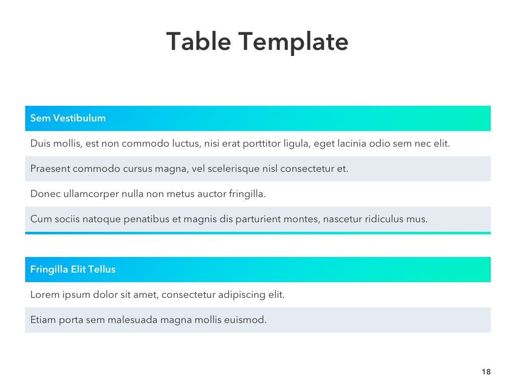 Project Planning PowerPoint Template, Slide 19, 05066, Presentation Templates — PoweredTemplate.com