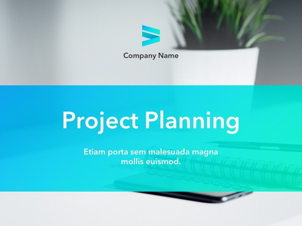 Project Planning PowerPoint Template, Slide 2, 05066, Presentation Templates — PoweredTemplate.com