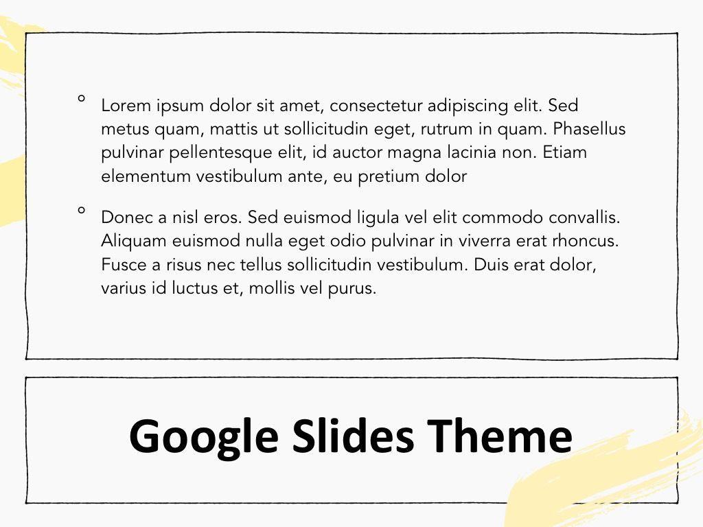 Sketched Google Slides Theme, Slide 10, 05068, Presentation Templates — PoweredTemplate.com