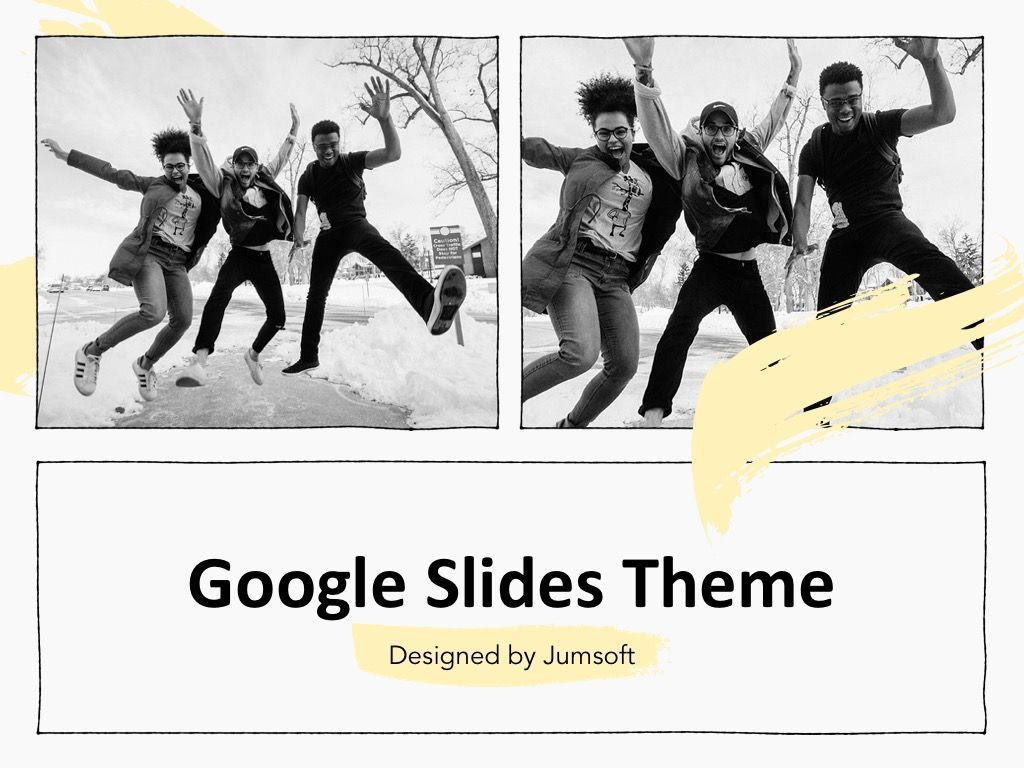 Sketched Google Slides Theme, Slide 11, 05068, Presentation Templates — PoweredTemplate.com