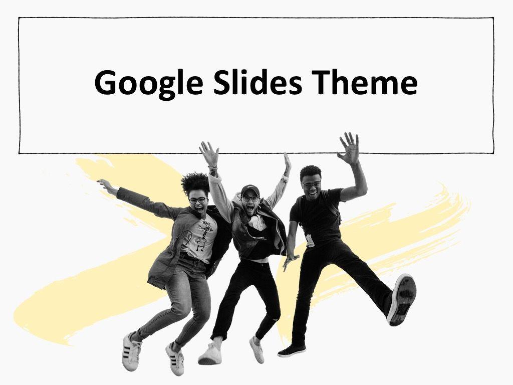 Sketched Google Slides Theme, Slide 12, 05068, Presentation Templates — PoweredTemplate.com