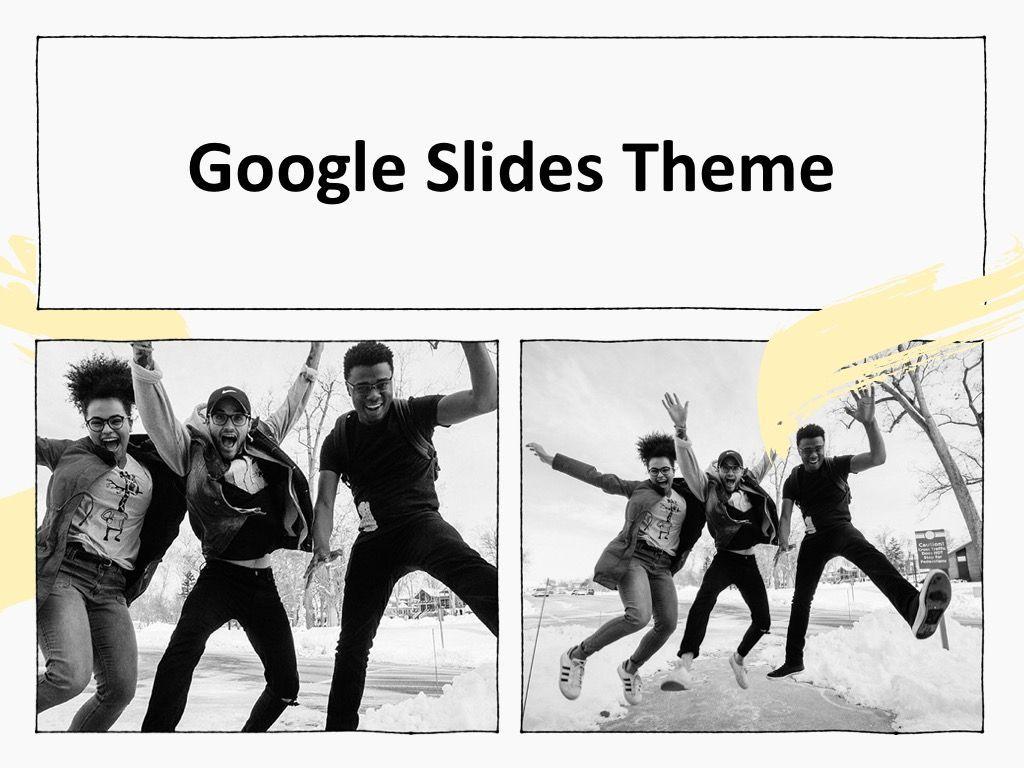 Sketched Google Slides Theme, Slide 13, 05068, Presentation Templates — PoweredTemplate.com