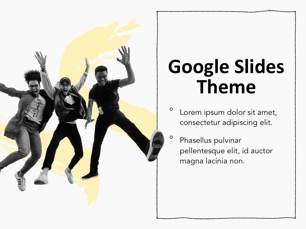 Sketched Google Slides Theme, Slide 15, 05068, Presentation Templates — PoweredTemplate.com