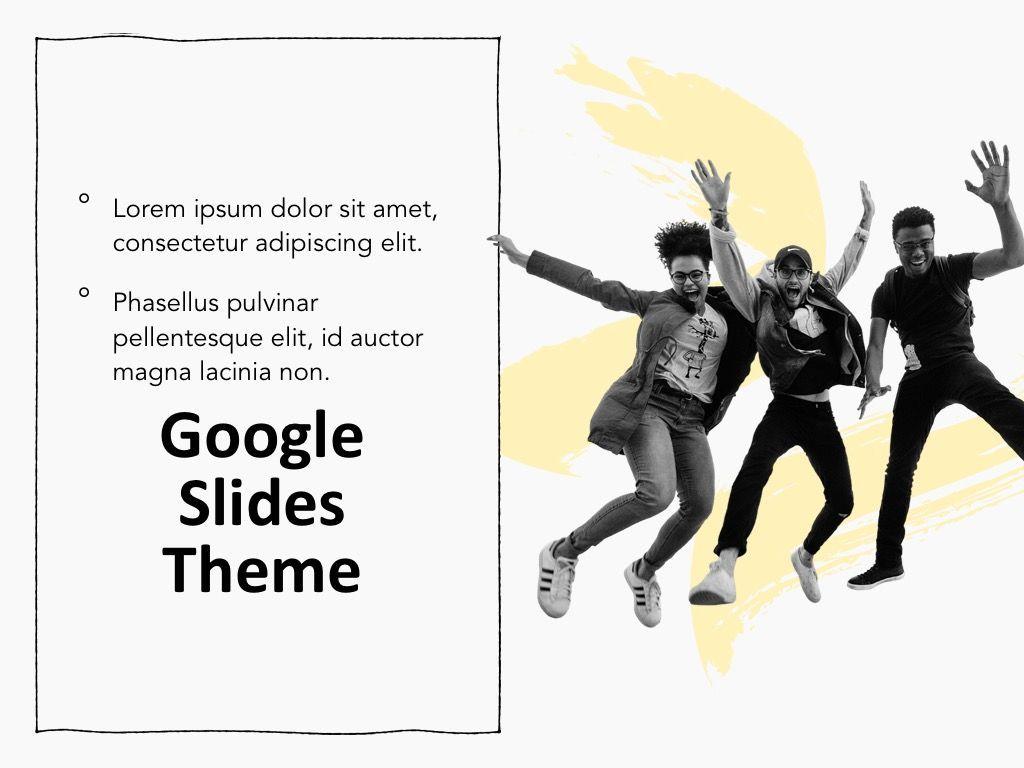 Sketched Google Slides Theme, Slide 16, 05068, Presentation Templates — PoweredTemplate.com