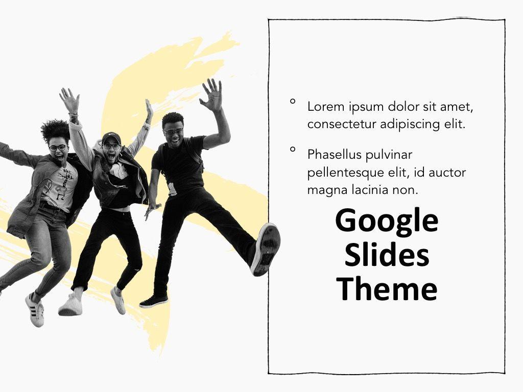 Sketched Google Slides Theme, Slide 17, 05068, Presentation Templates — PoweredTemplate.com