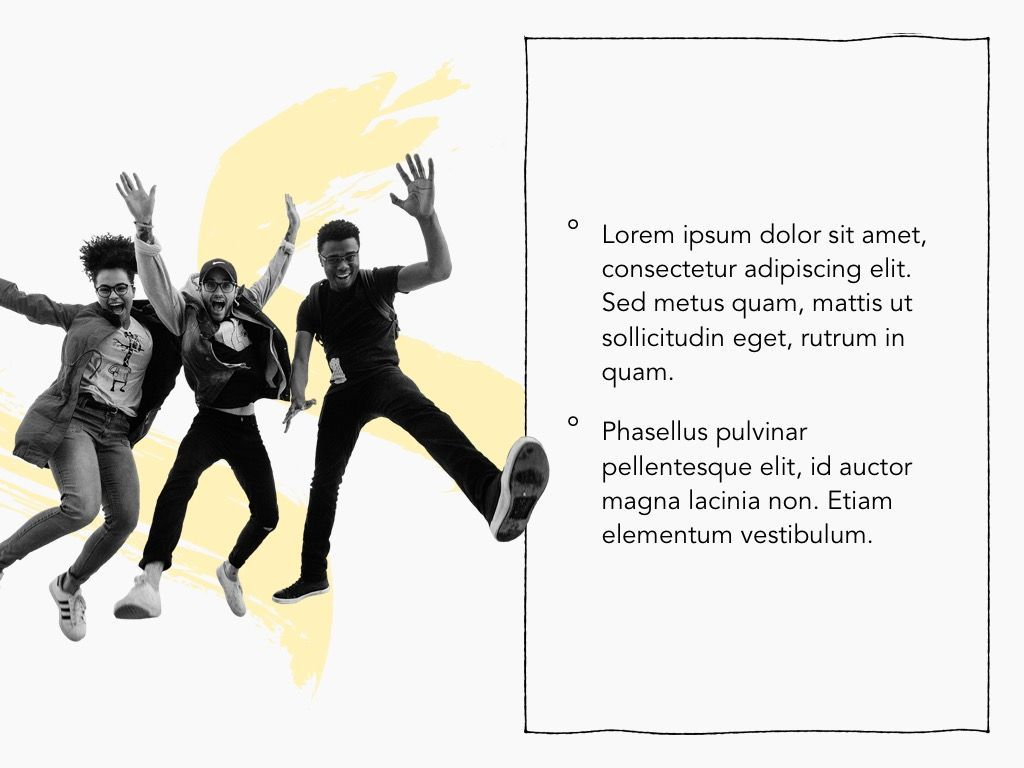 Sketched Google Slides Theme, Slide 19, 05068, Presentation Templates — PoweredTemplate.com