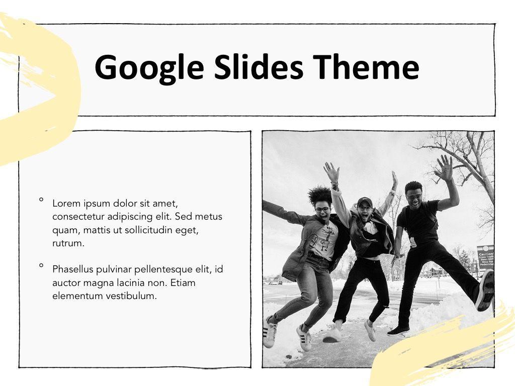 Sketched Google Slides Theme, Slide 27, 05068, Presentation Templates — PoweredTemplate.com