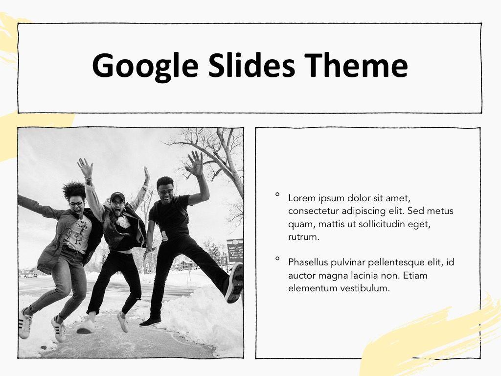 Sketched Google Slides Theme, Slide 28, 05068, Presentation Templates — PoweredTemplate.com
