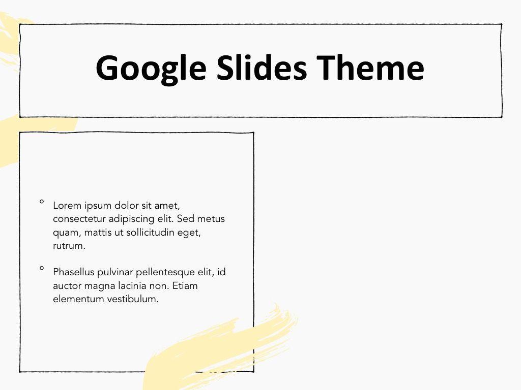 Sketched Google Slides Theme, Slide 29, 05068, Presentation Templates — PoweredTemplate.com