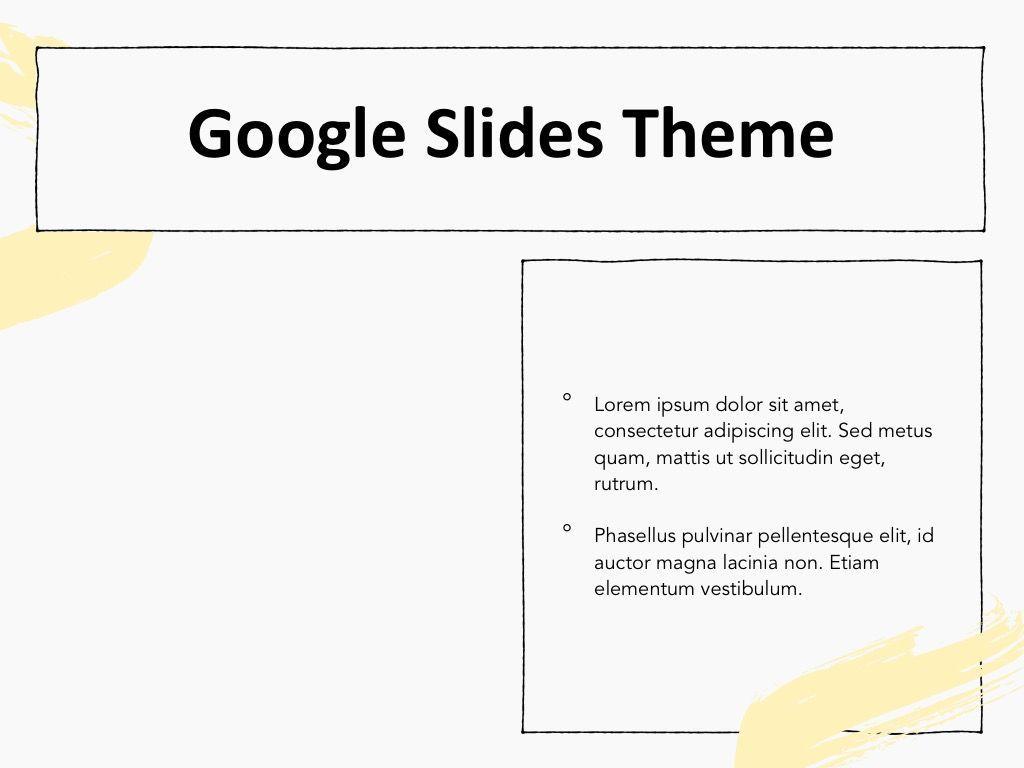 Sketched Google Slides Theme, Slide 30, 05068, Presentation Templates — PoweredTemplate.com