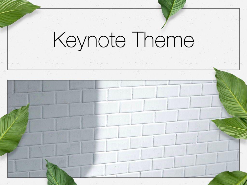 In Green Keynote Theme, Slide 15, 05069, Presentation Templates — PoweredTemplate.com