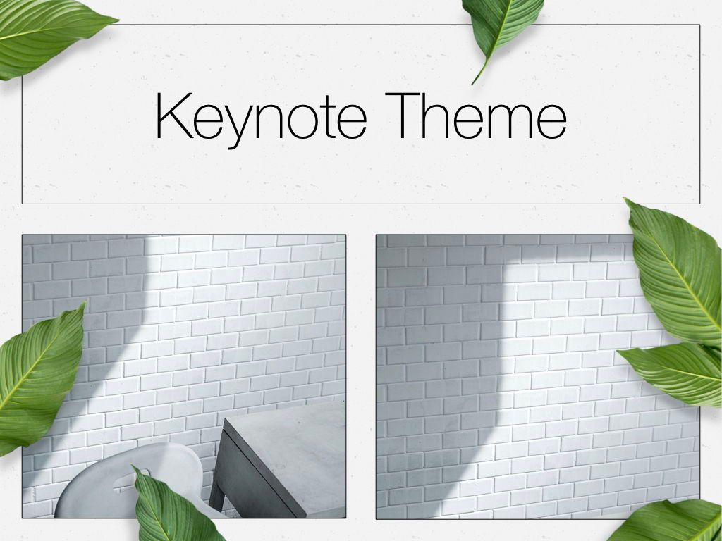 In Green Keynote Theme, Slide 16, 05069, Presentation Templates — PoweredTemplate.com