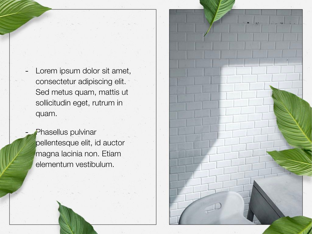 In Green Keynote Theme, Slide 21, 05069, Presentation Templates — PoweredTemplate.com
