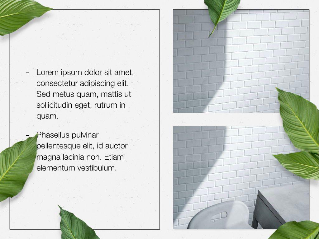 In Green Keynote Theme, Slide 23, 05069, Presentation Templates — PoweredTemplate.com