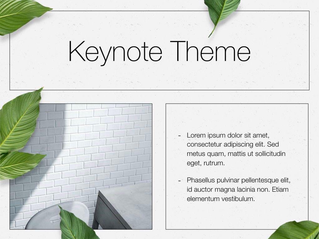 In Green Keynote Theme, Slide 31, 05069, Presentation Templates — PoweredTemplate.com