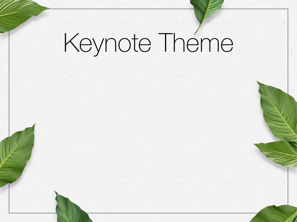 In Green Keynote Theme, Slide 9, 05069, Presentation Templates — PoweredTemplate.com