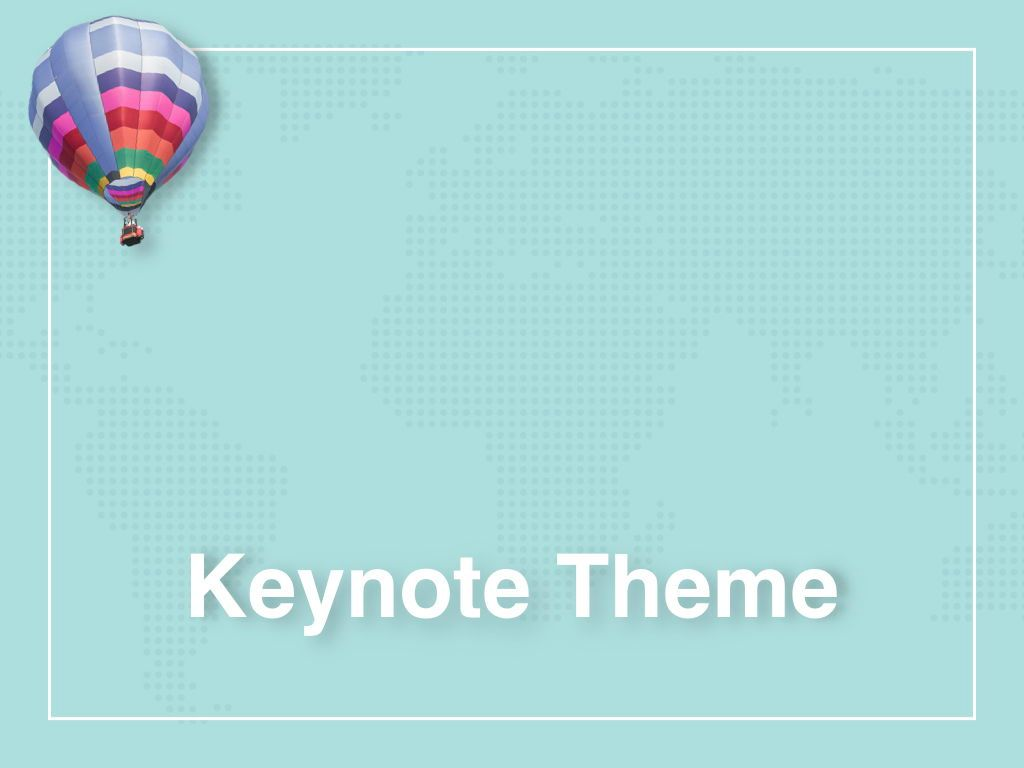 Hot Air Keynote Theme, Slide 11, 05070, Presentation Templates — PoweredTemplate.com