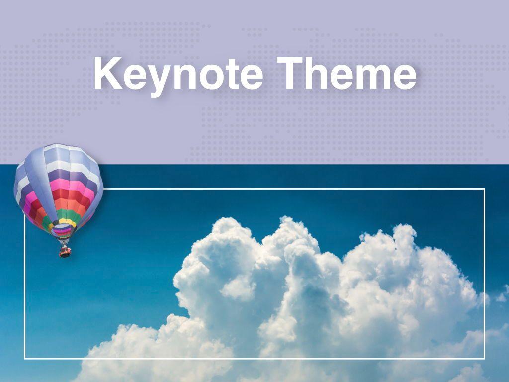 Hot Air Keynote Theme, Slide 15, 05070, Presentation Templates — PoweredTemplate.com