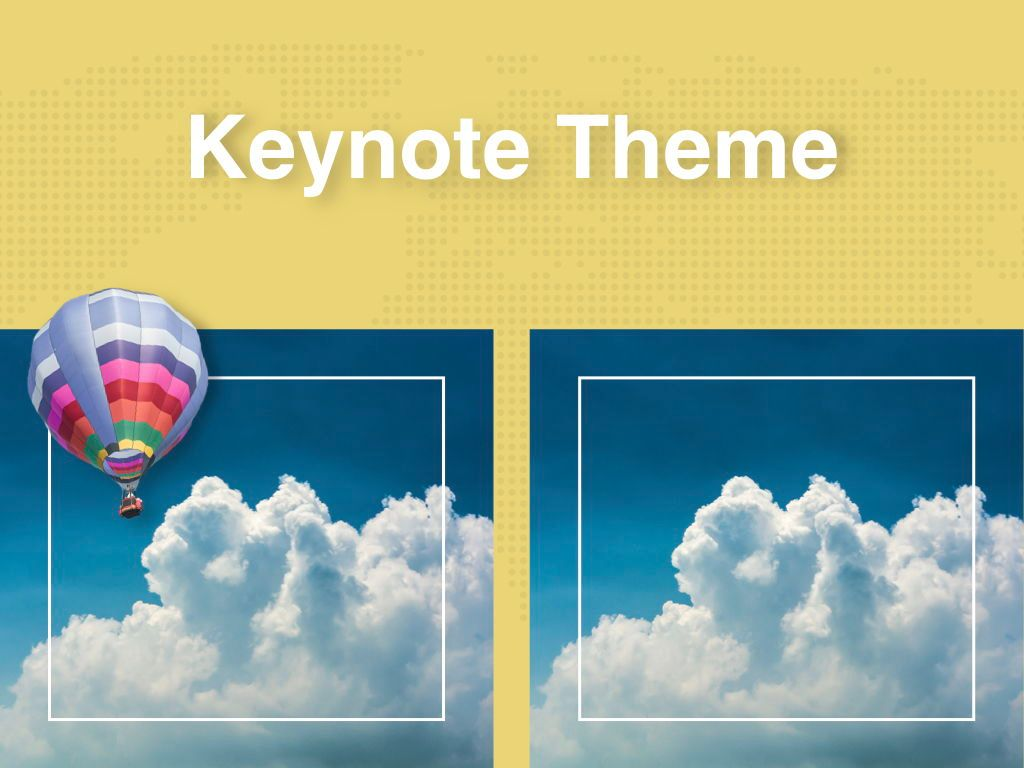 Hot Air Keynote Theme, Slide 16, 05070, Presentation Templates — PoweredTemplate.com