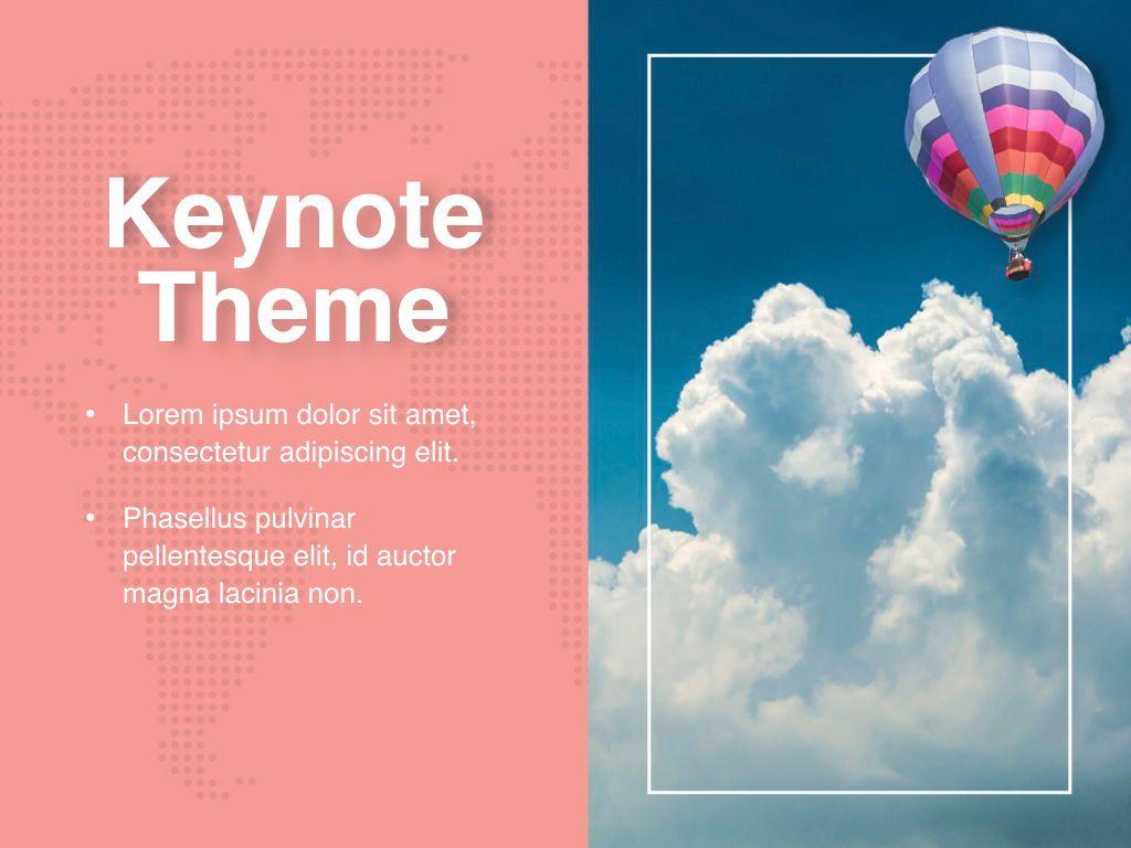 Hot Air Keynote Theme, Slide 17, 05070, Presentation Templates — PoweredTemplate.com