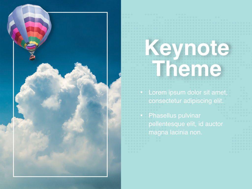 Hot Air Keynote Theme, Slide 18, 05070, Presentation Templates — PoweredTemplate.com