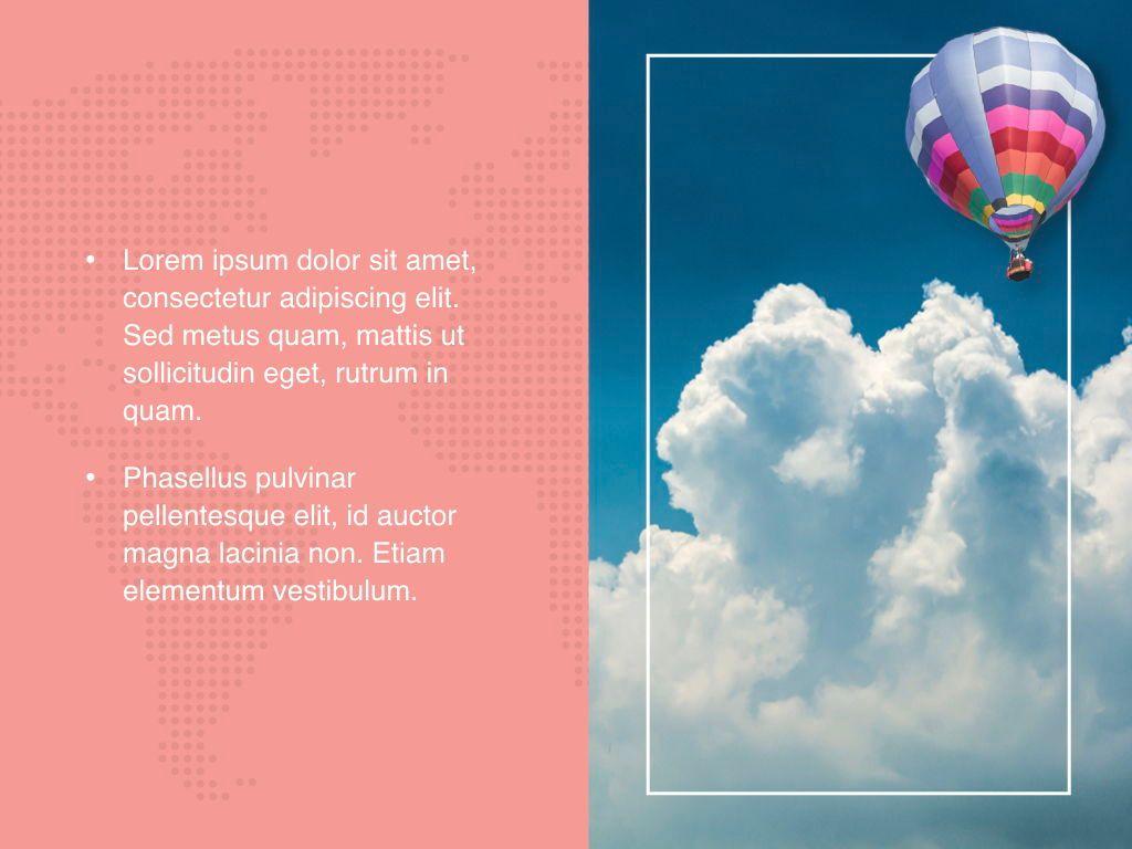Hot Air Keynote Theme, Slide 21, 05070, Presentation Templates — PoweredTemplate.com