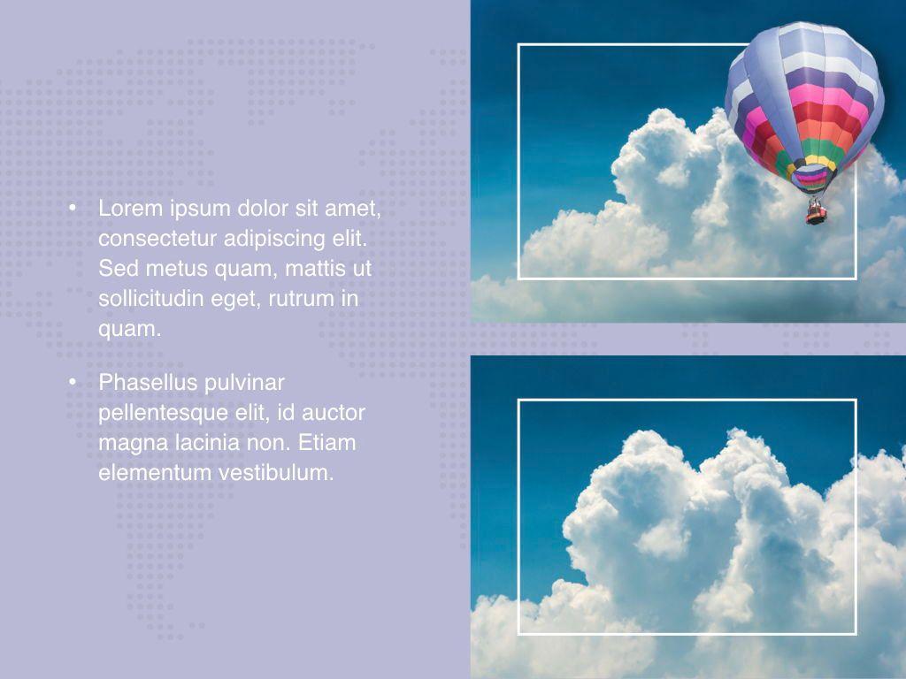 Hot Air Keynote Theme, Slide 23, 05070, Presentation Templates — PoweredTemplate.com