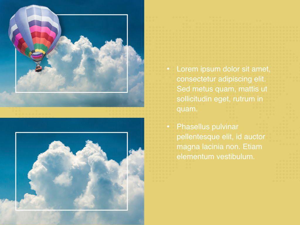 Hot Air Keynote Theme, Slide 24, 05070, Presentation Templates — PoweredTemplate.com